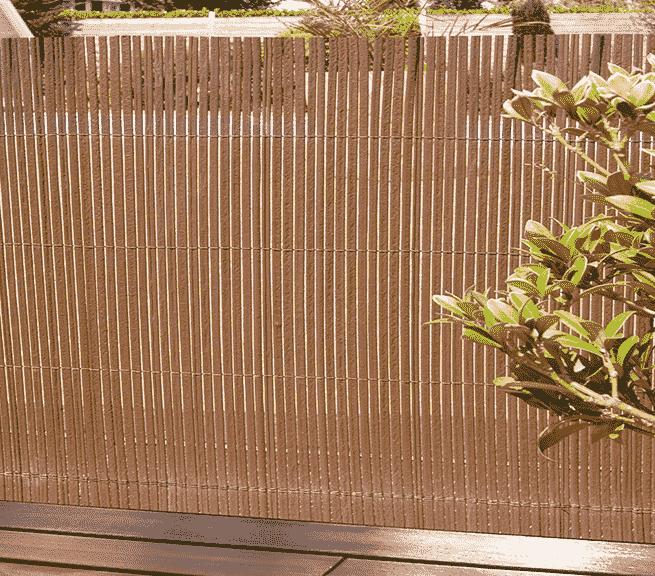 gyékény kerítés